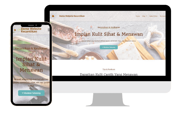pakej website murah