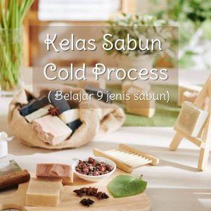 Kelas Sabun Cold Process
